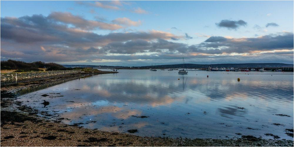 Reflections Keyhaven © Ann Hart