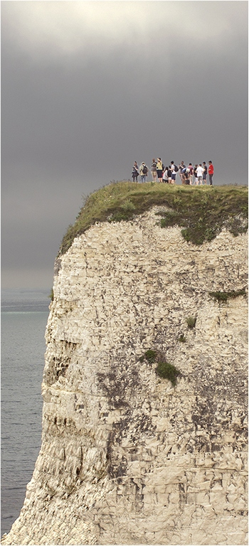 On the edge © Neil Grimshaw