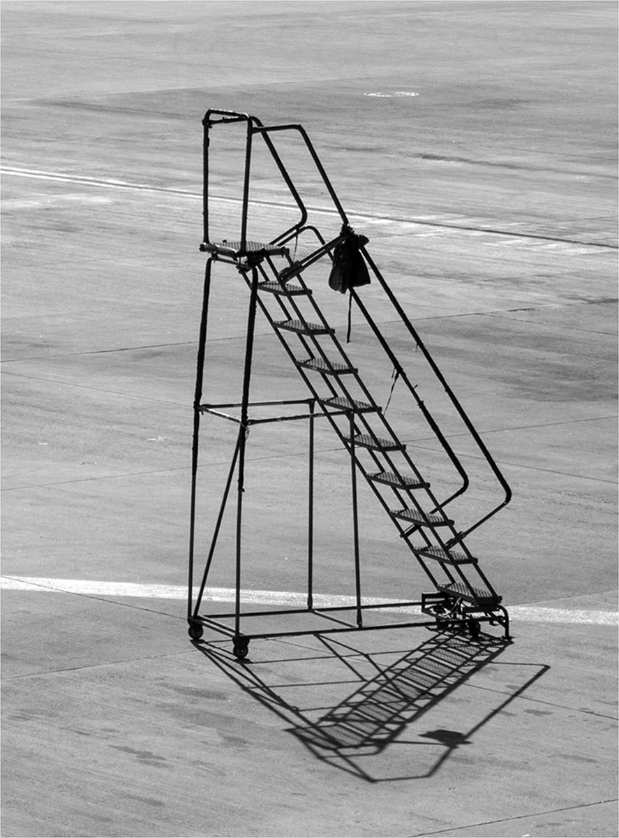 Airport Step Ladder © Neil Grimshaw