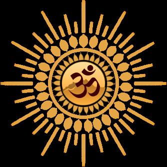 Satsang.earth: goud logo