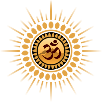 Satsang.earth: logo gold