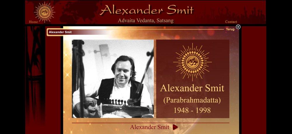 Satsang Alexander Smit nieuwsbrieven