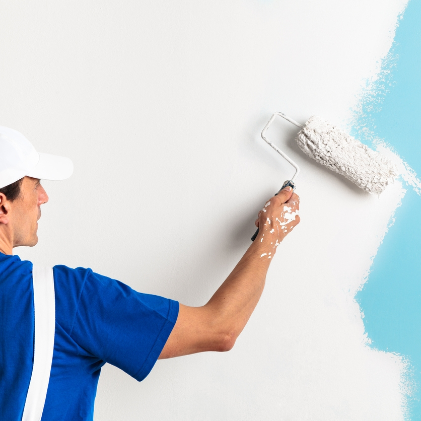 Interior Painting - Whether it's a bright, new, color, or just a fresh coat, painting any space can go a long way. We repair and prep all walls and ceilings before applying any texture and paint. Our painters take pride in their work, and know the importance of a quality paint job.