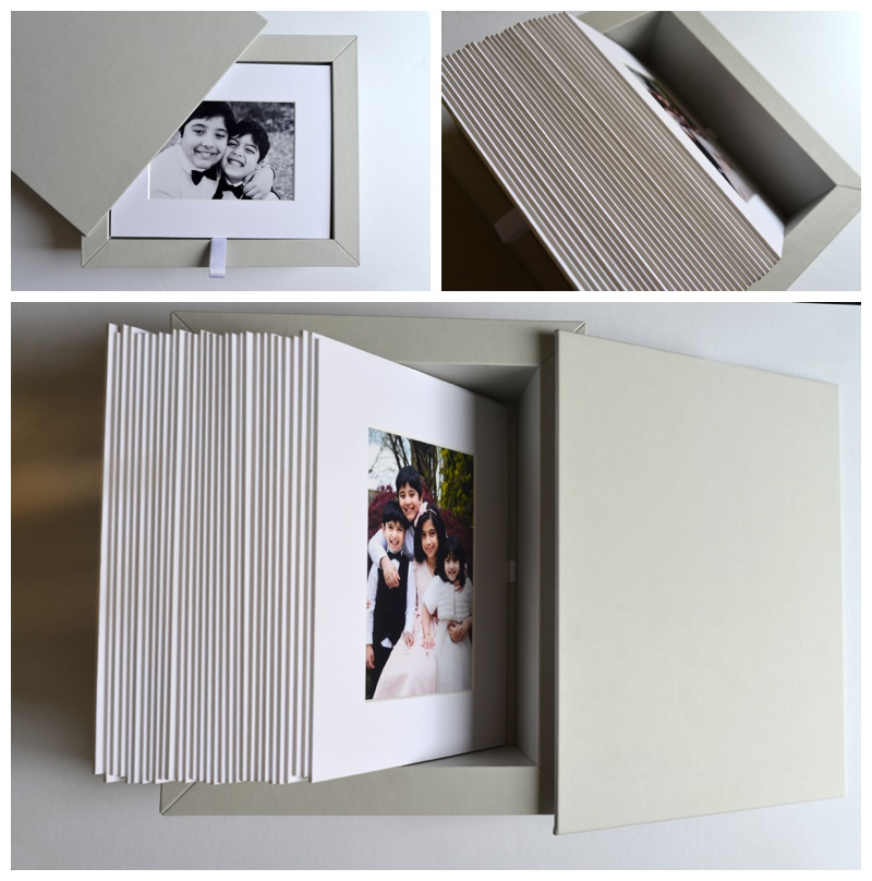 Gorgeous, handmade image boxes with ready-to-frame mounted prints