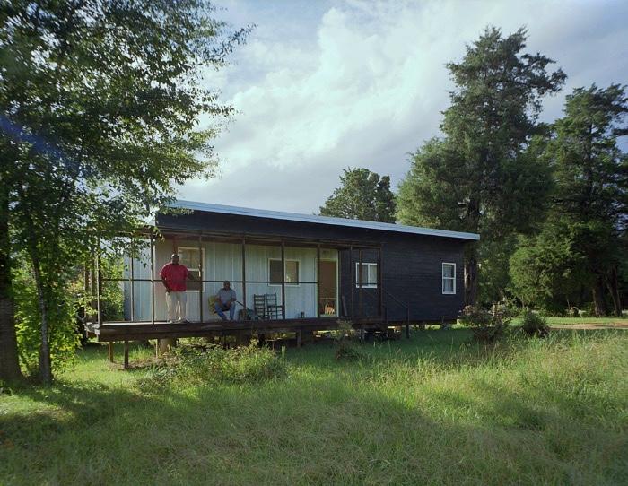 Rural Studio's first $20k home:  Elizabeth's Home