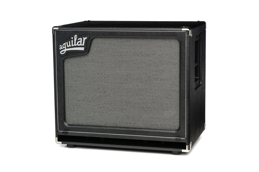 """The SL 115 offers incredible sonic flexibility whether used as a stand-alone cabinet or paired with another cabinet such as the SL 410x. Weighing only 34 lbs. (15.42kg), the SL 115 is available in 4 or 8 ohm versions and can handle 400 watts RMS. With a frequency response of 35 Hz – 4 kHz, the SL 115 provides the deep lows, articulate midrange and smooth treble for which Aguilar is known. The SL 115 also features a custom-voiced woofer with Neodymium magnet and includes one Neutrik Speakon and two 1/4"""" inputs. -"""
