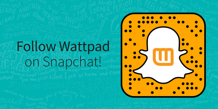 Wattpad's Snapchat QR Code