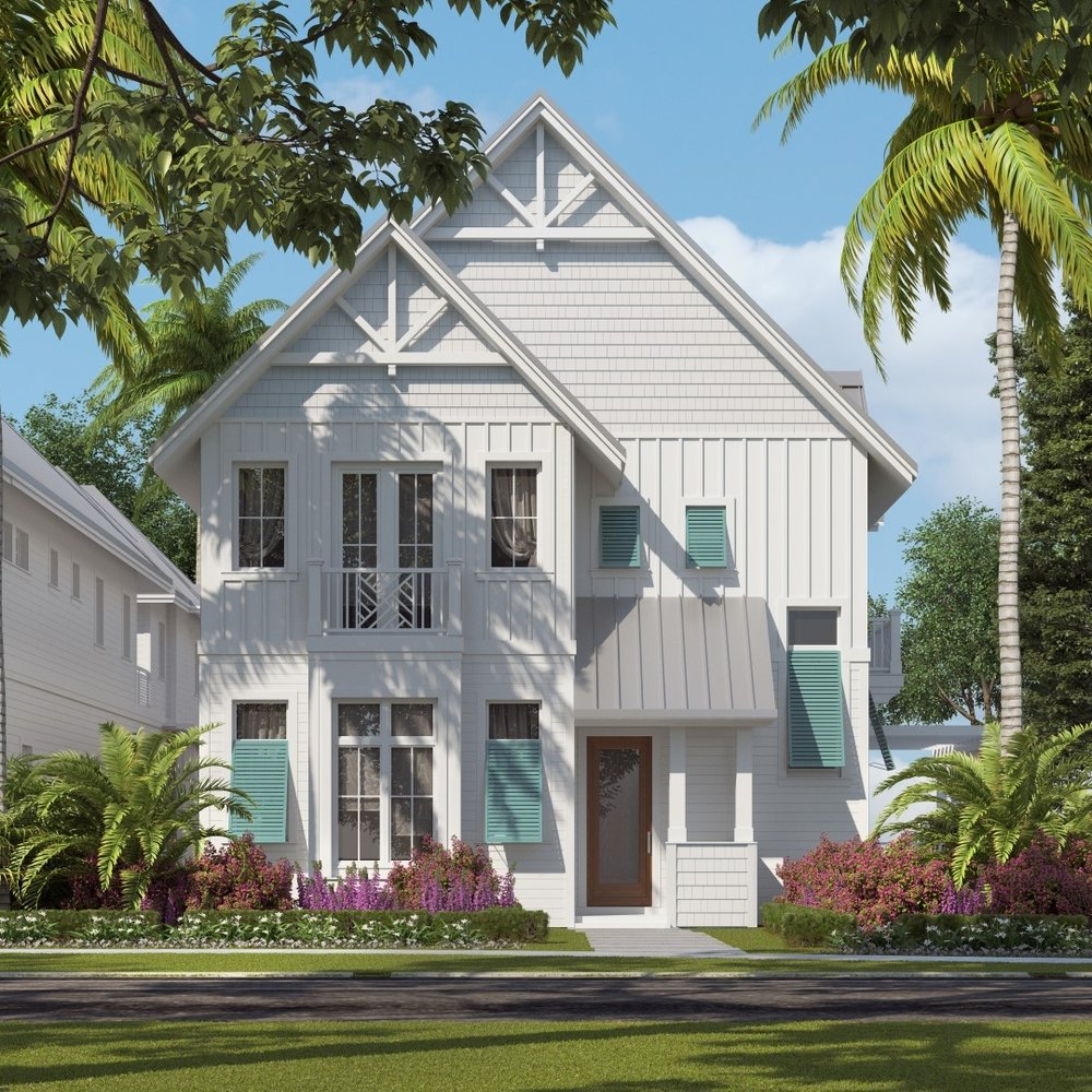 Brunswick - Three Bedroom, Five and Half Bath, Living Room, Dining Room, Bonus Room, Loft, Cabana, Outdoor Living, 3-Car Garage