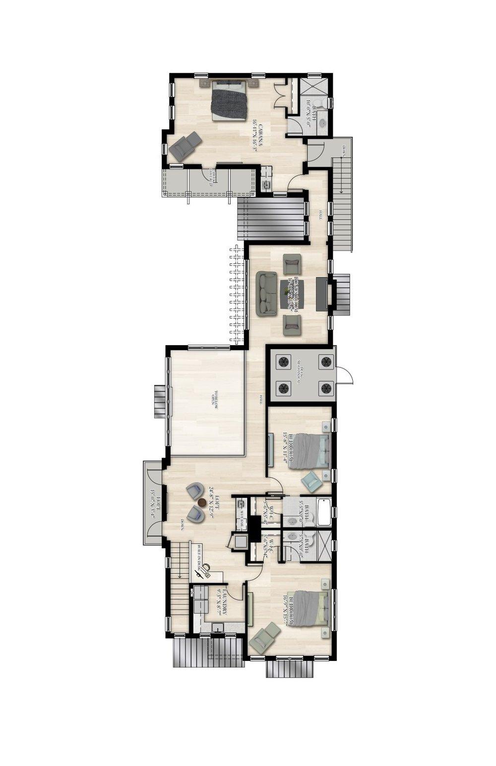 Georgian (2nd Floor)