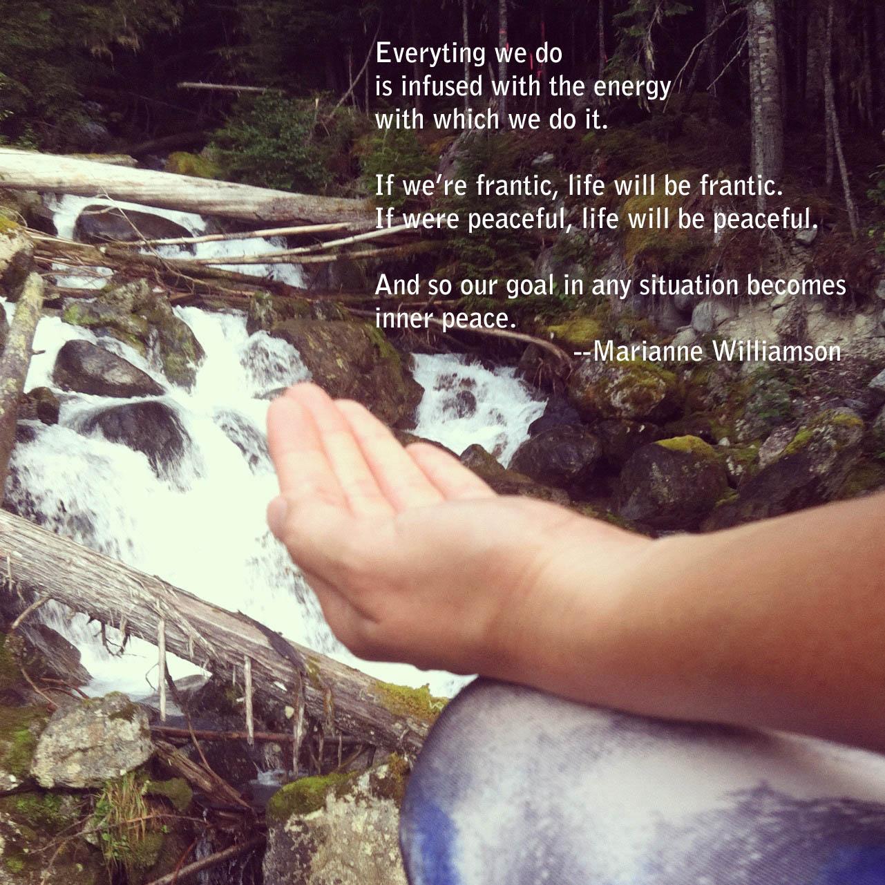 Inner Peace Marianne Williamson
