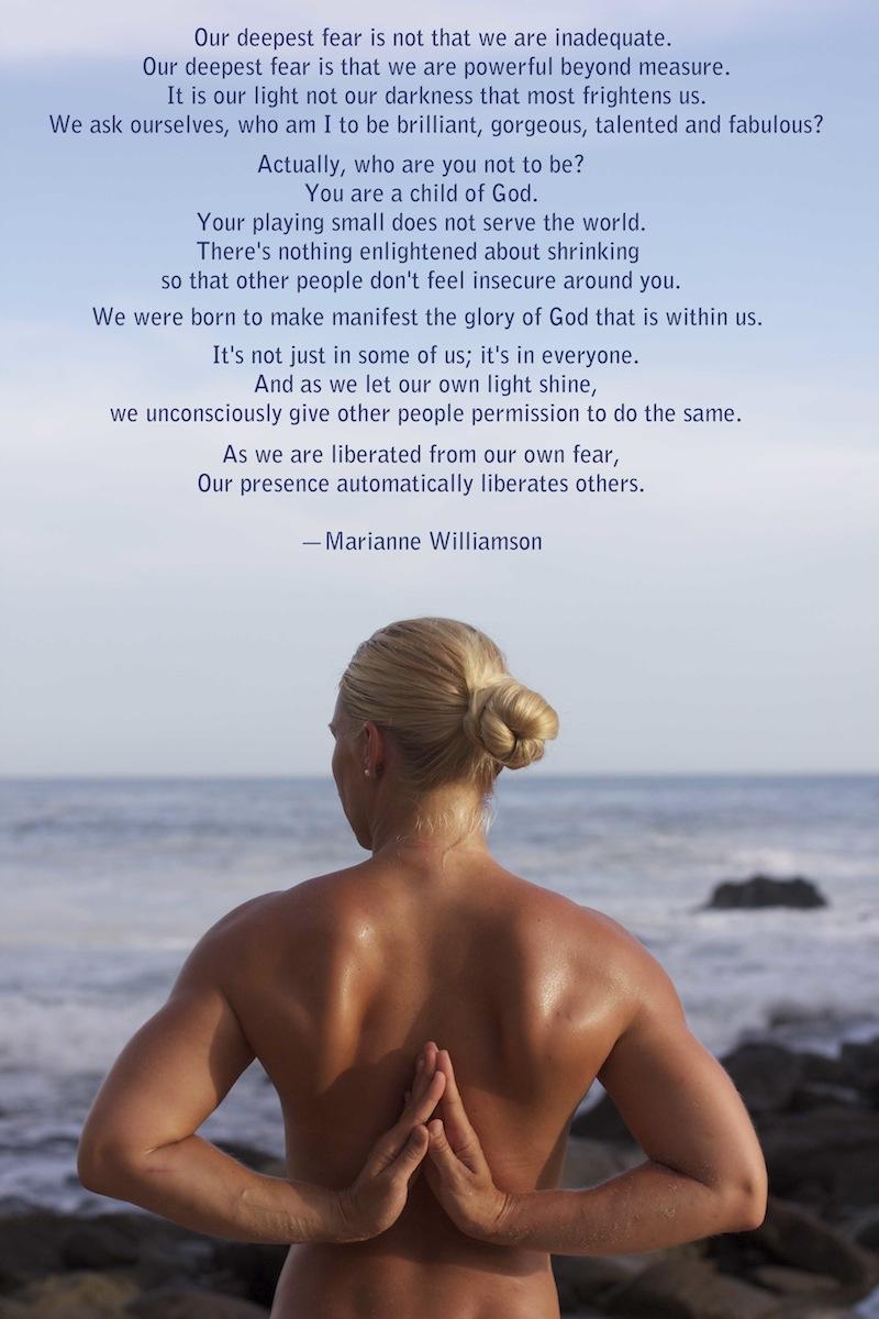 Powerful Marianne Williamson