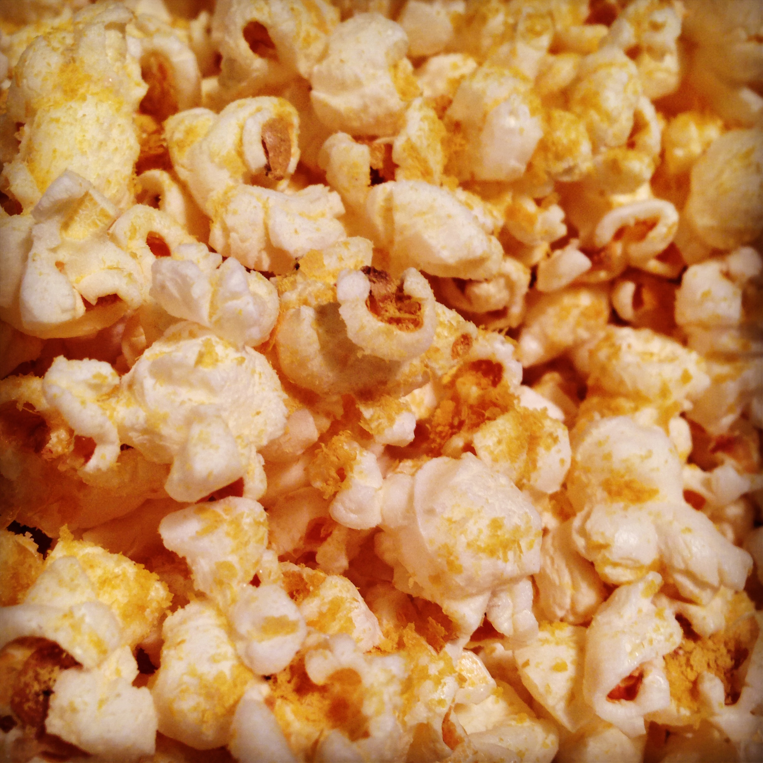 Stovetop Popcorn with Nutritional Yeast