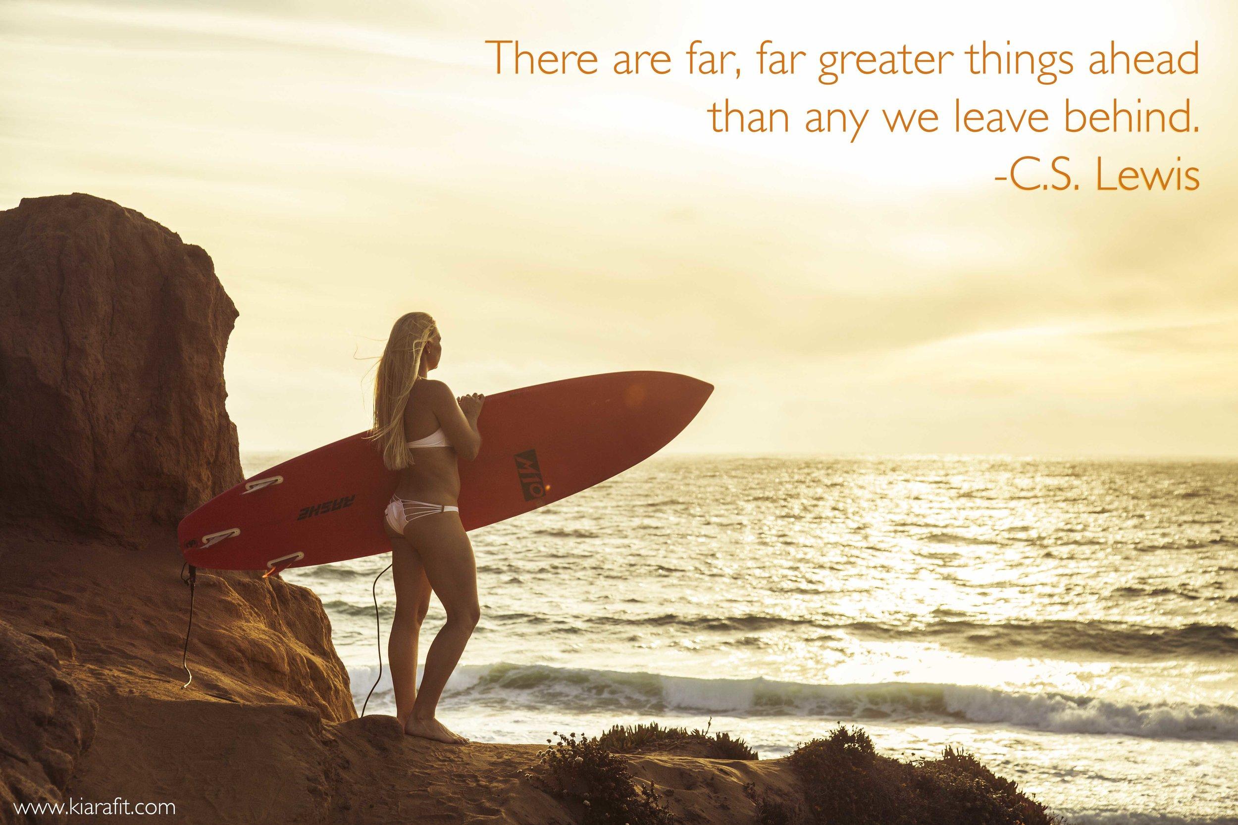 greater things ahead