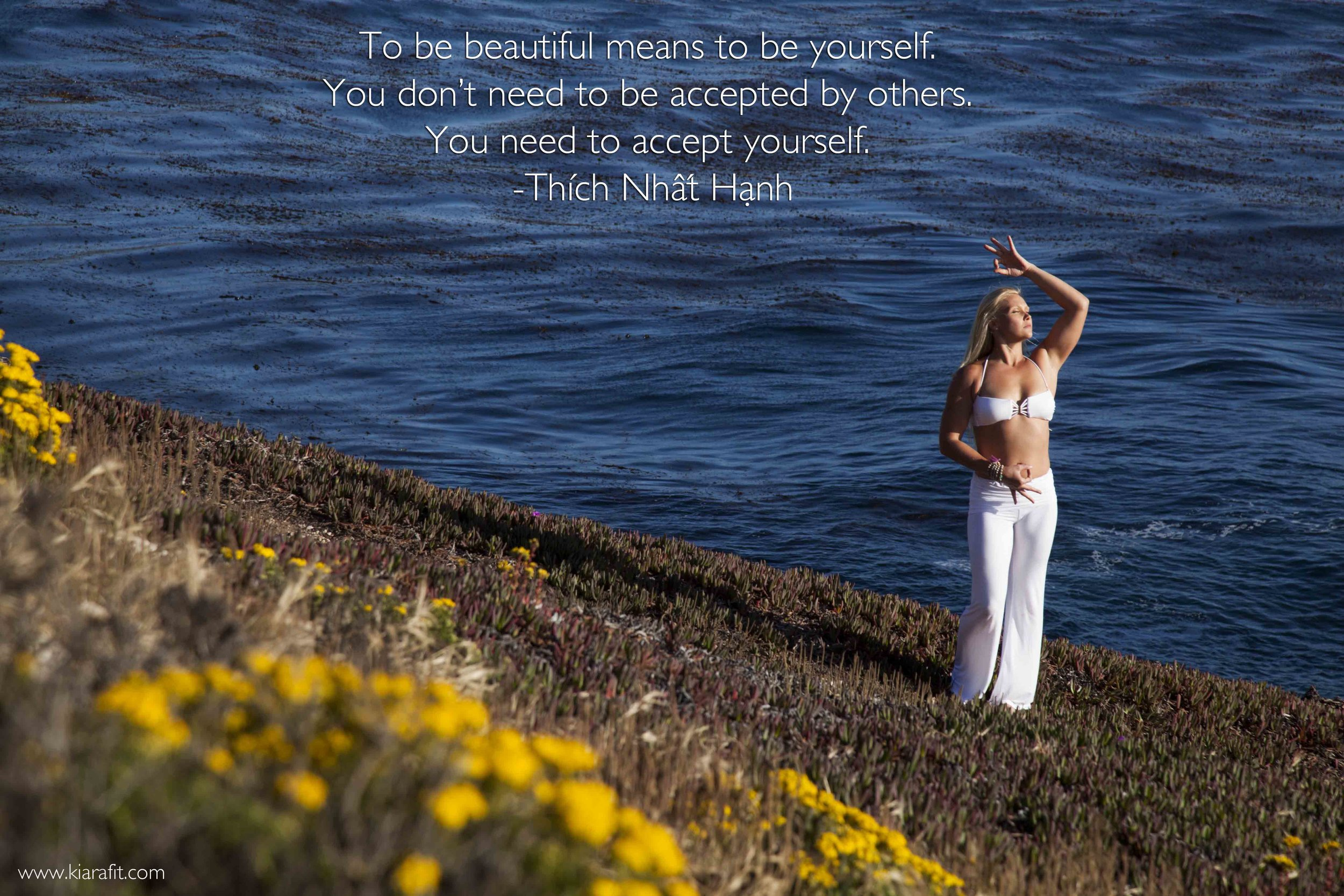 accept yourself Thich Nhat Hanh