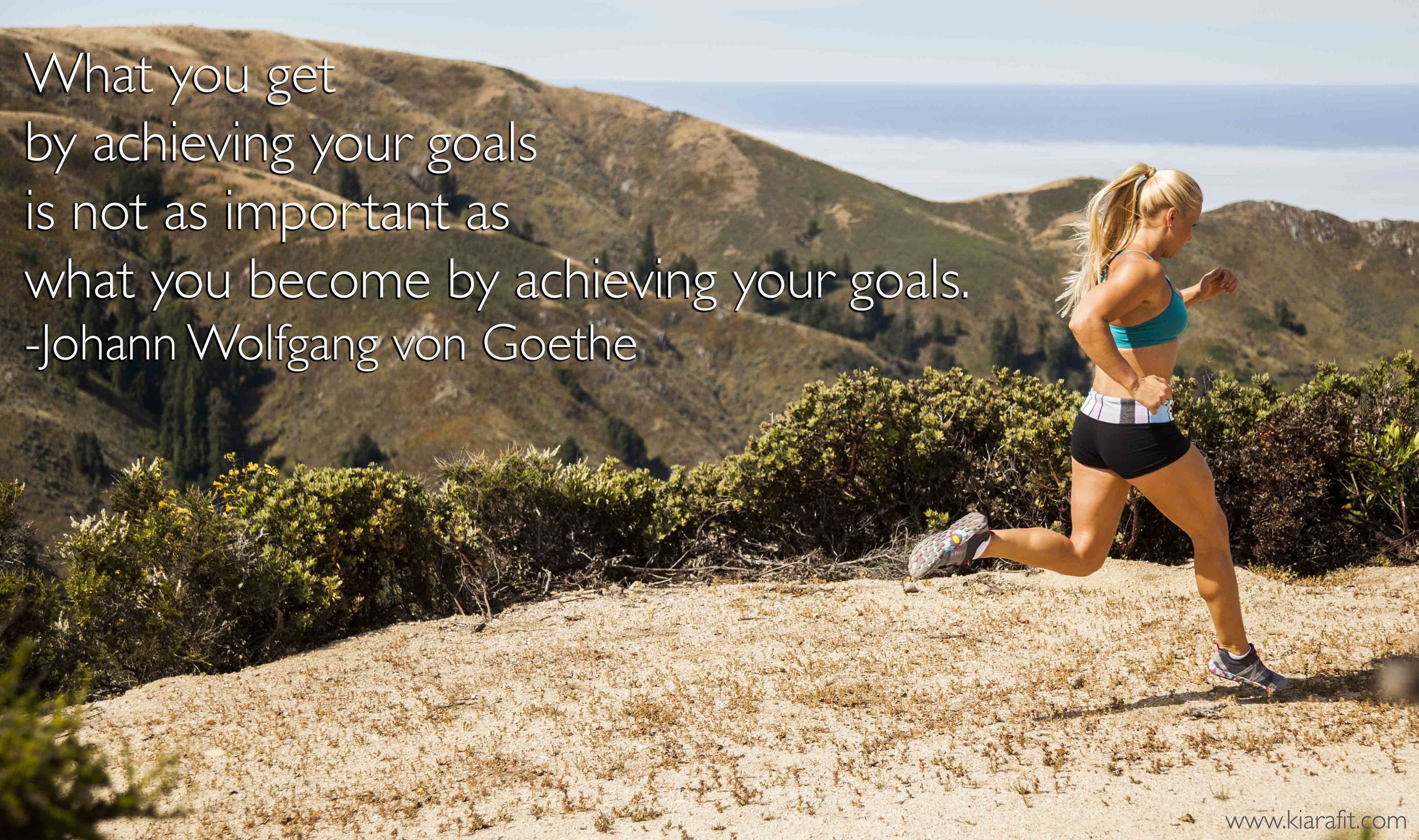become when you achieve goals