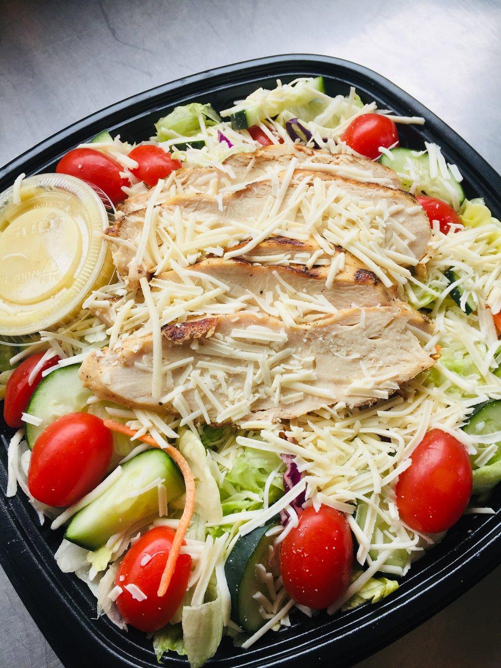 Grilled Chicken Sensation Salad