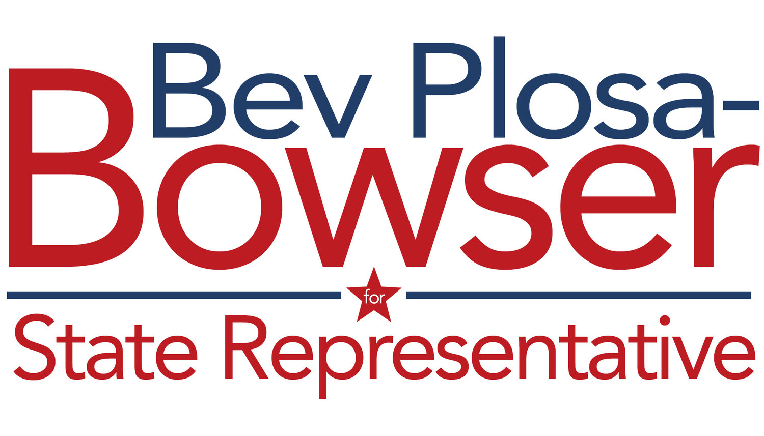 Vote Bev Plosa-Boswer for State Representative