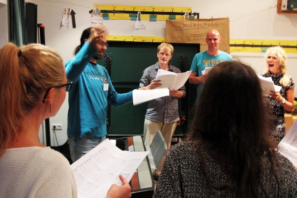 Eddi Hüneke - Chor-Coaching