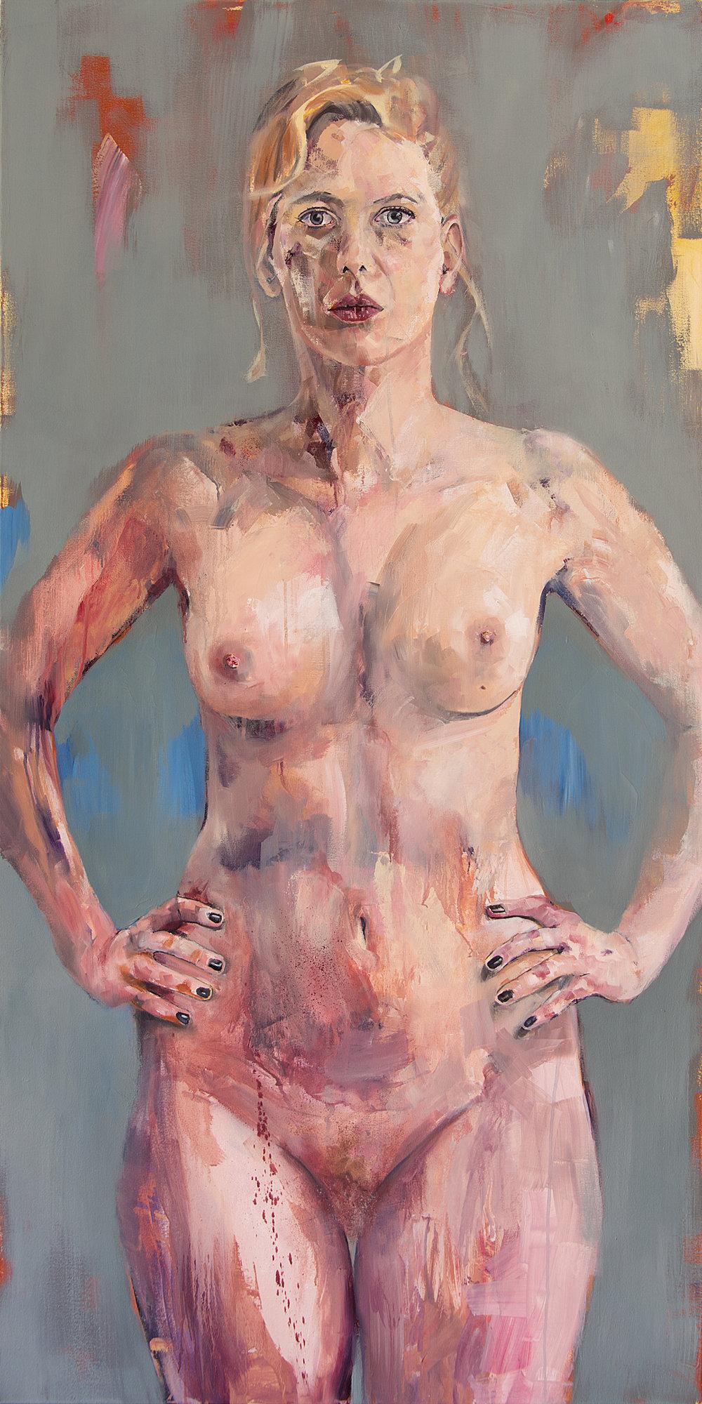Standing Nude (EW) 140x70 2014.jpg