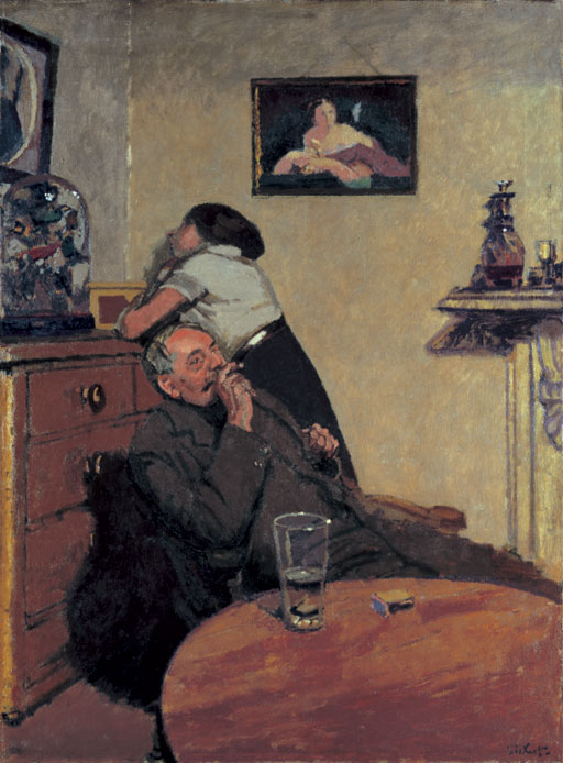 Ennui , 1914 Oil on Canvas 152x112cm