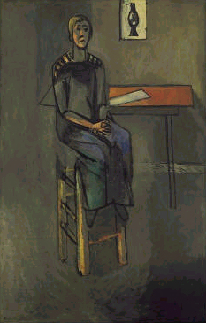 1916-Henri Matisse-woman on high stool.jpg