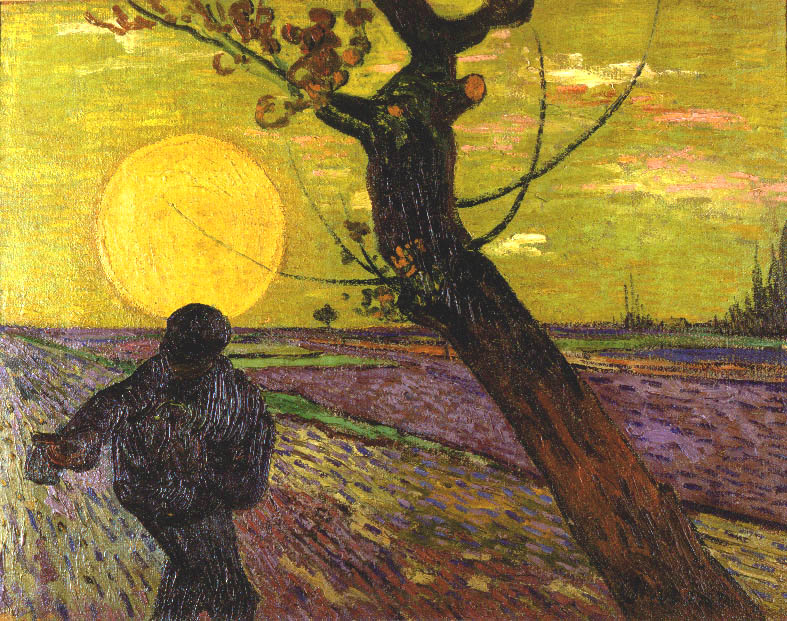 The Sower Vincent van Gogh