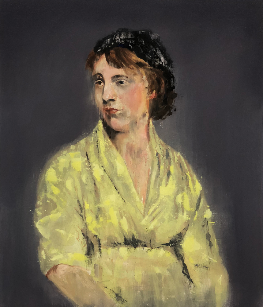 Mary Wollstonecraft, 2018 Oil on Linen 71x61cm (Available for Sale)