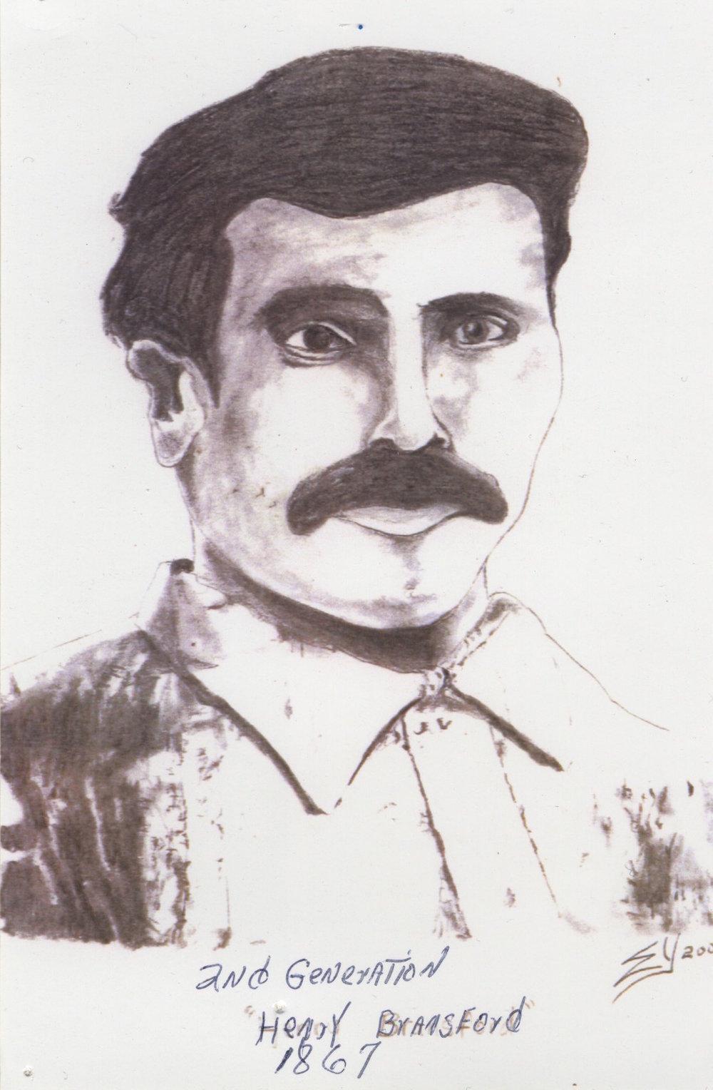 Henry Bransford, circa 1867