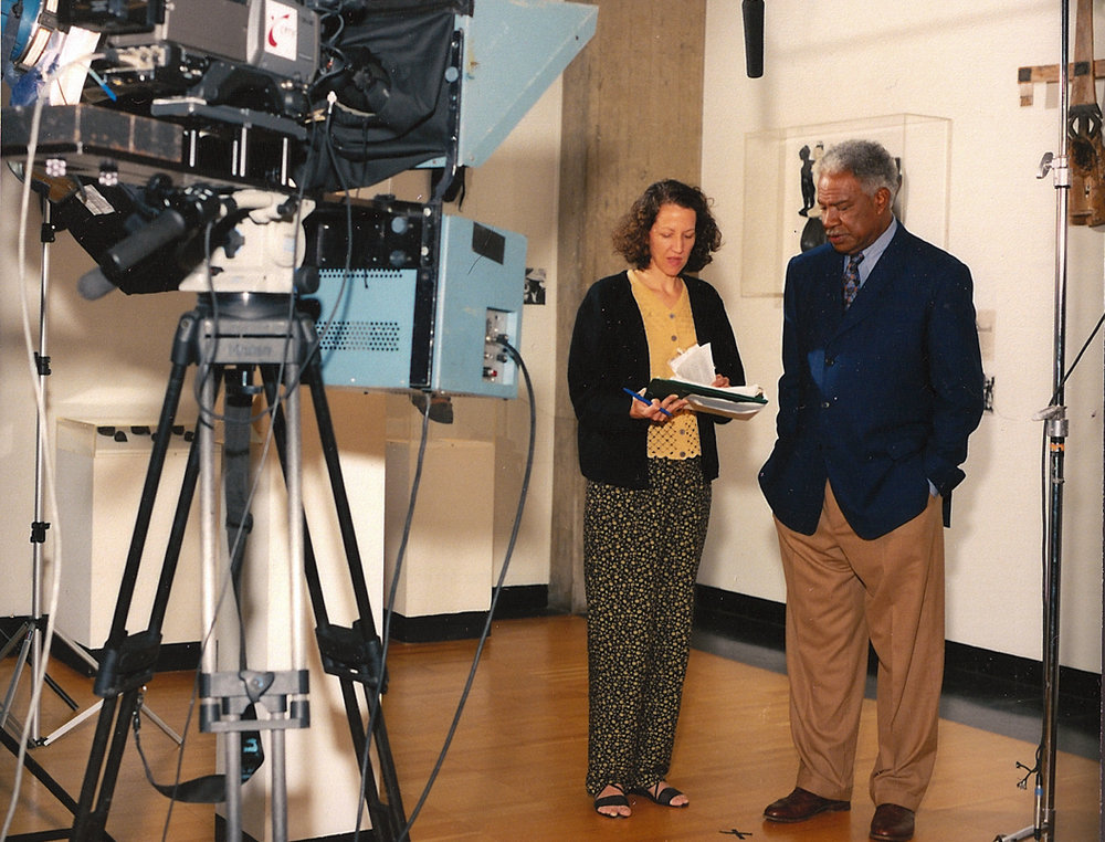Karyl directing Ozzie Davis