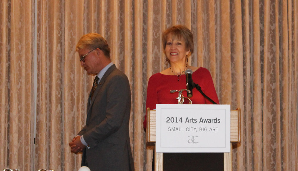 Karyl Evans wins 2014 New Haven Arts Award