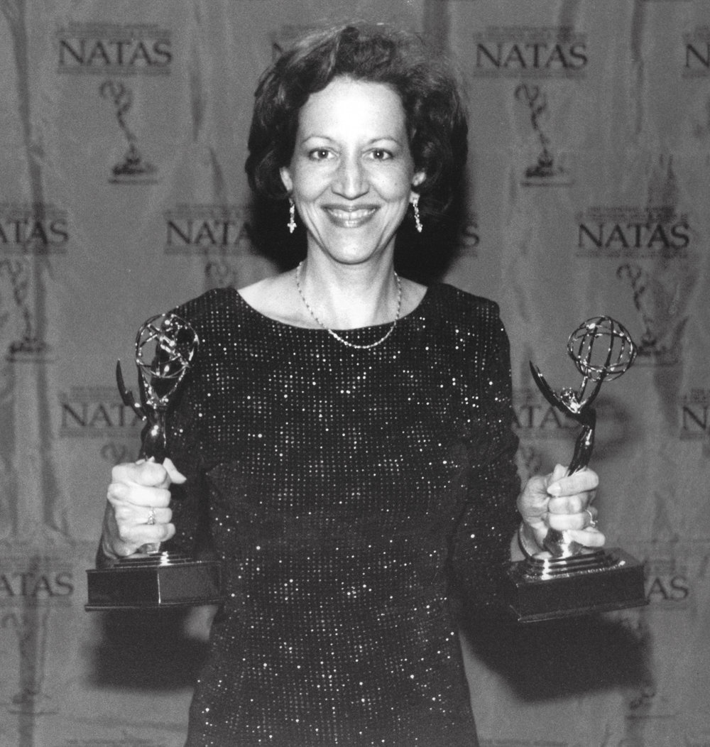 Karyl Evans wins 3 Emmy Awards in 2000