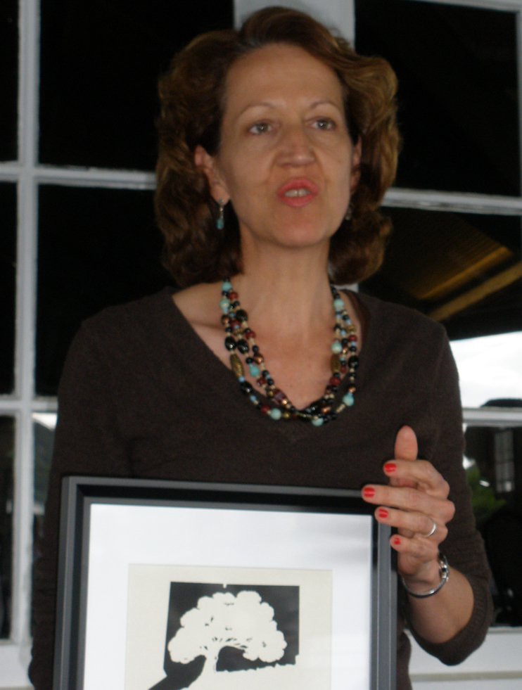 Karyl Evans wins Award of Merit from the Connecticut League of History Organizations 2008