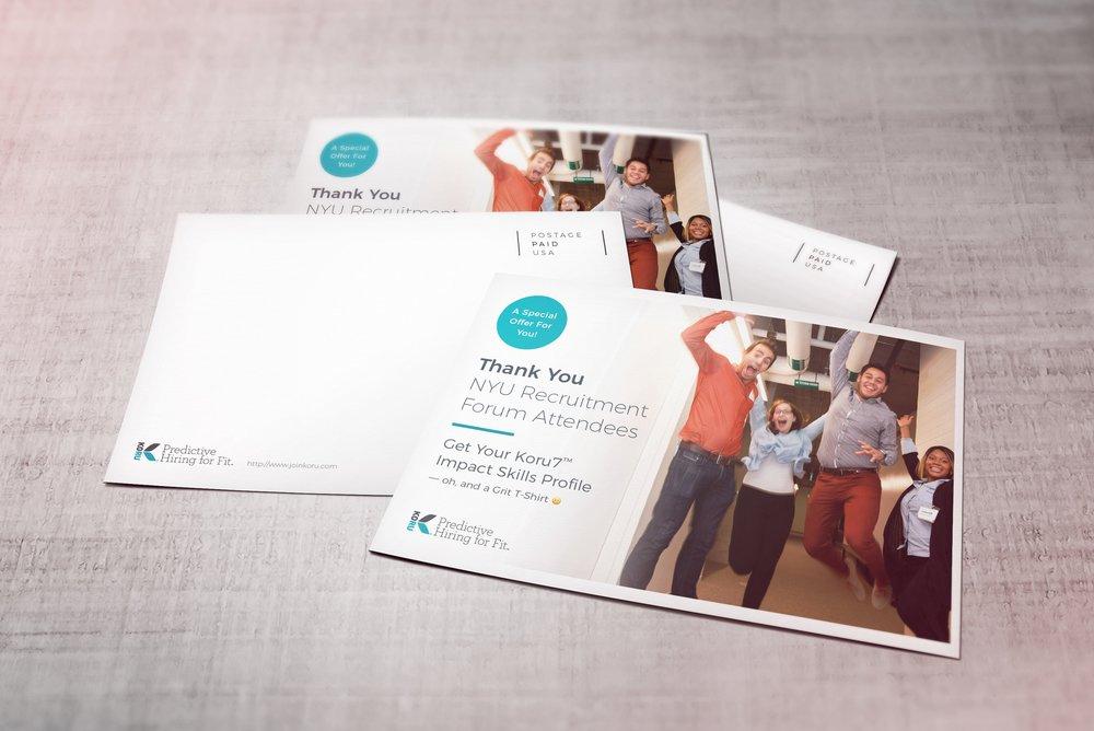 Koru Postcards