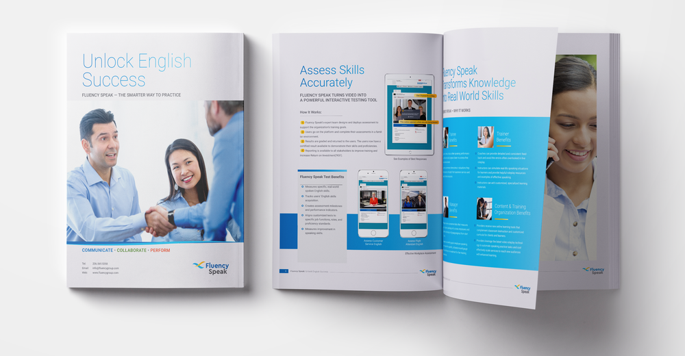 Fluency Speak Brochure