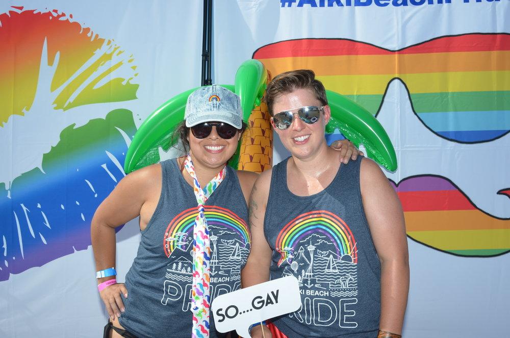 Alki Beach Pride