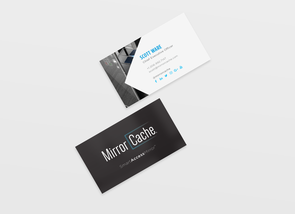 MirrorCache® Business Cards