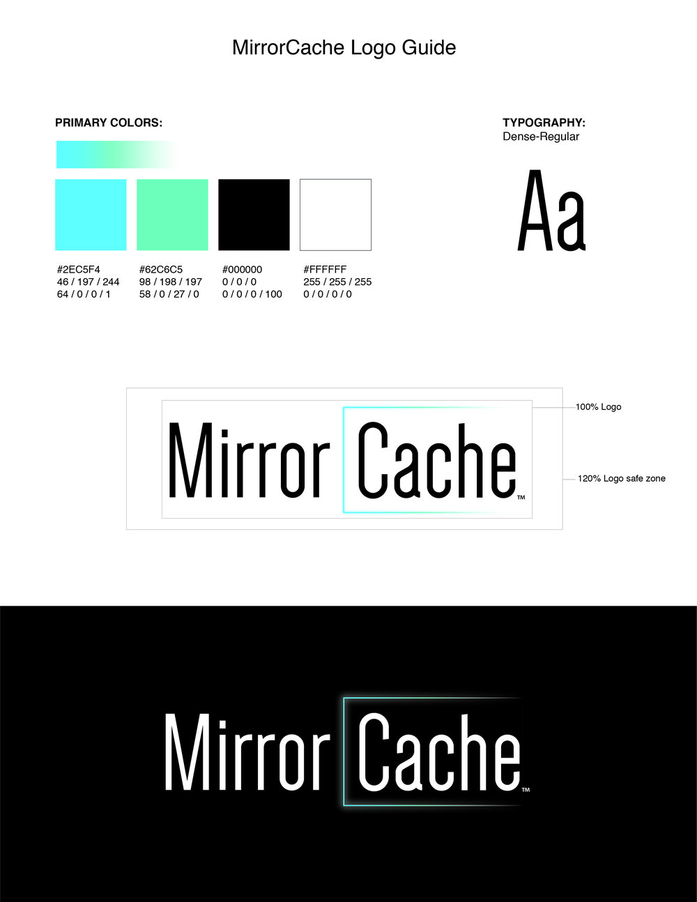 MirrorCache® Logo Specification Document