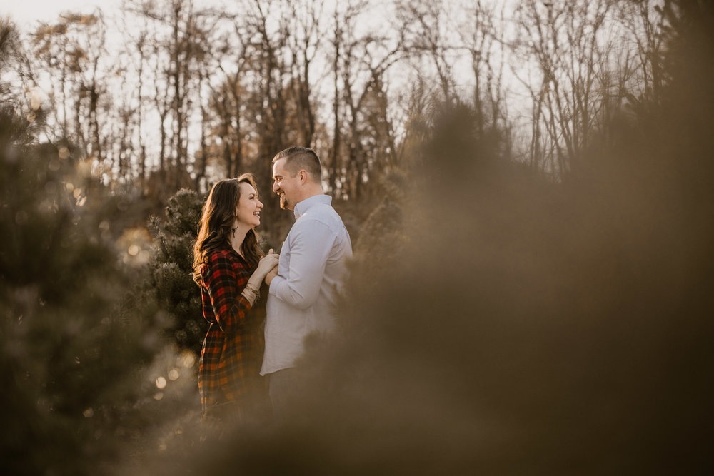 Engagement - Tree picking - Wedding Photographer - Virginia - Best - Pat Cori Photography-7.jpg