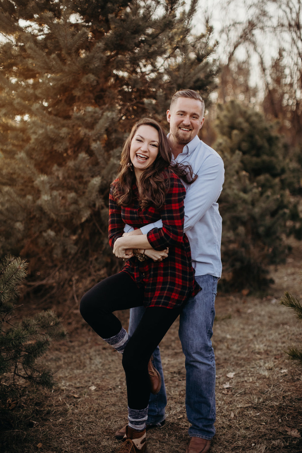 Engagement - Tree picking - Wedding Photographer - Virginia - Best - Pat Cori Photography-26.jpg
