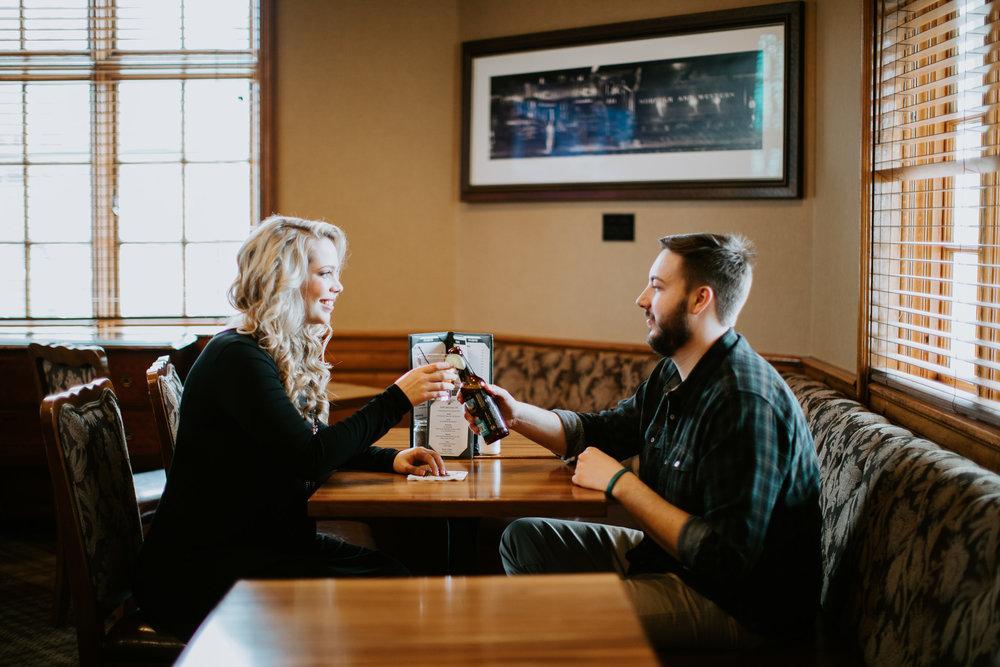 Hotel Roanoke - Engagement - Best wedding Photographer - Virginia - Pat Cori Photography-1.jpg
