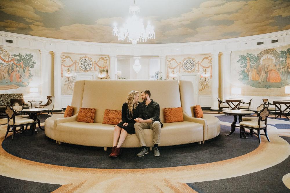 Hotel Roanoke - Engagement - Best wedding Photographer - Virginia - Pat Cori Photography-6.jpg