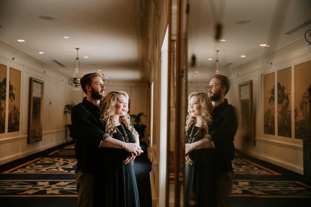 Hotel Roanoke - Engagement - Best wedding Photographer - Virginia - Pat Cori Photography-18.jpg