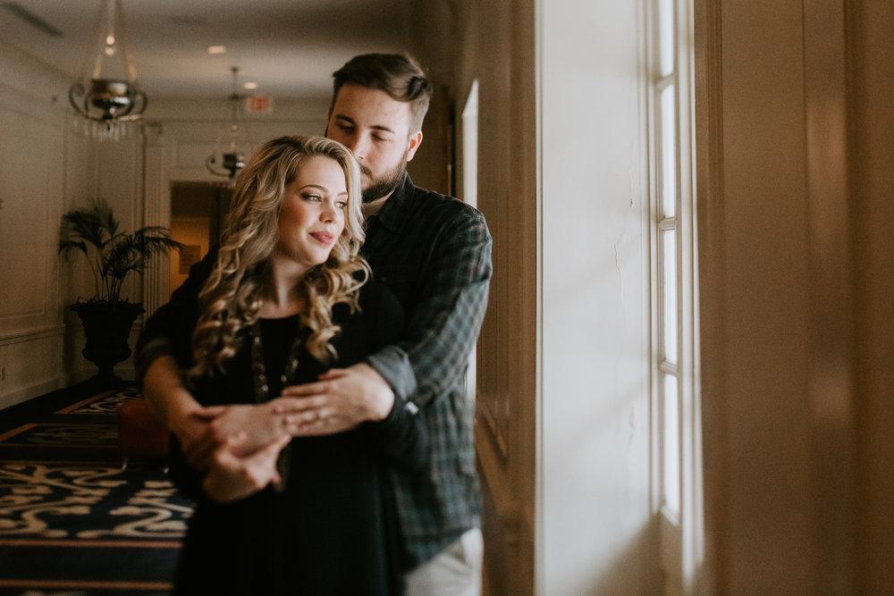 Hotel Roanoke - Engagement - Best wedding Photographer - Virginia - Pat Cori Photography-20.jpg