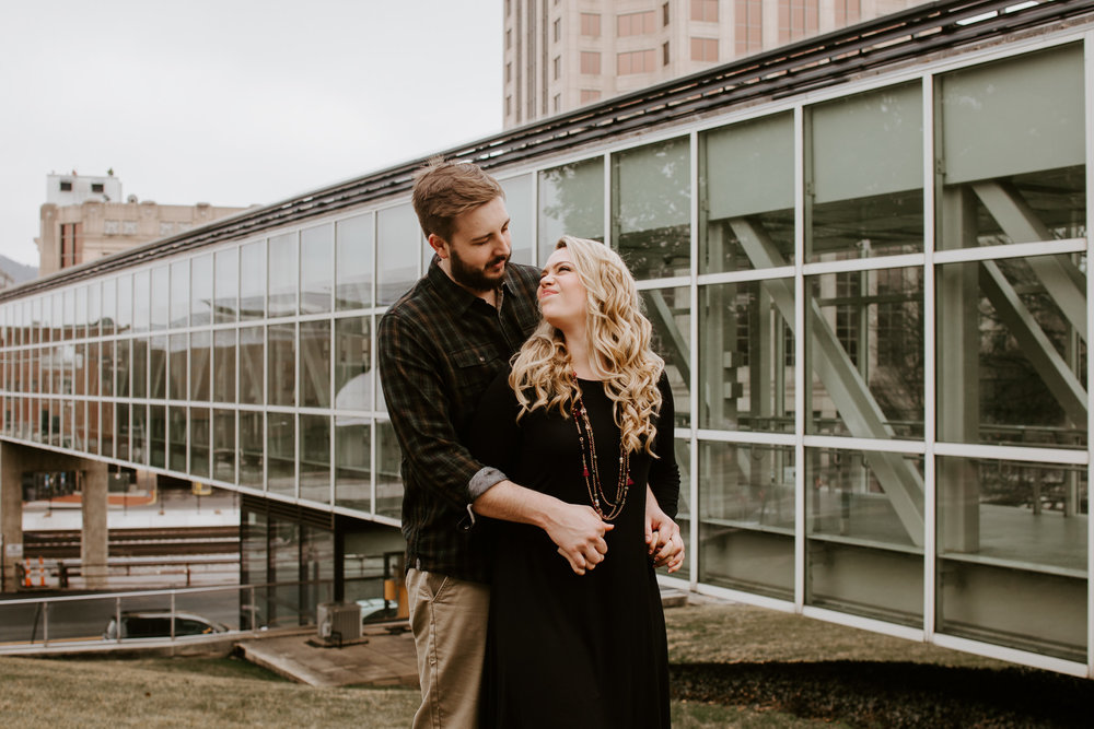 Hotel Roanoke - Engagement - Best wedding Photographer - Virginia - Pat Cori Photography-29.jpg