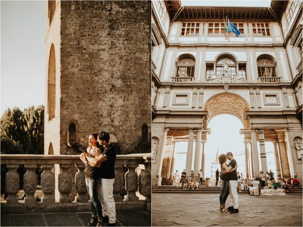 Florence  - Engagements - Italy - Destination Wedding - Wedding Photographer - Weddings - Pat Cori Photography