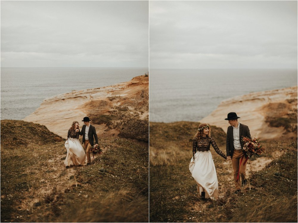 Cape Kiwanda - Elopement - Oregon - Wedding Photographer - Pat Cori Photography-58.jpg