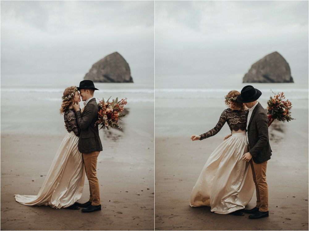 Cape Kiwanda - Elopement - Oregon - Wedding Photographer - Pat Cori Photography-14.jpg