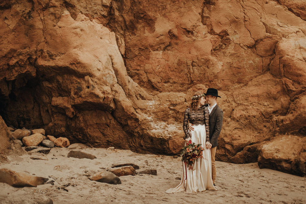 Cape Kiwanda - Elopement - Oregon - Wedding Photographer - Pat Cori Photography-26.jpg