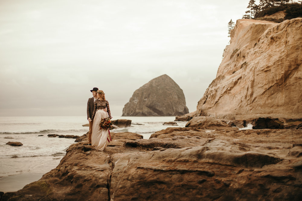 Cape Kiwanda - Elopement - Oregon - Wedding Photographer - Pat Cori Photography-33.jpg
