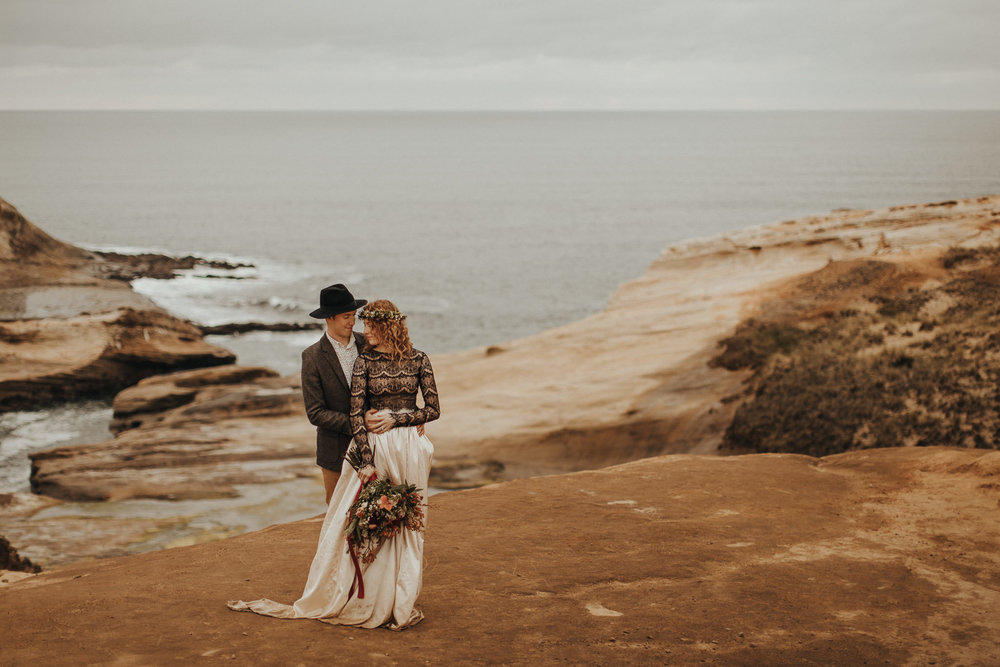 Cape Kiwanda - Elopement - Oregon - Wedding Photographer - Pat Cori Photography-52.jpg